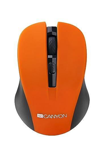 Canyon CNE- Maus, kabellos orange: Amazon.de: Computer & Zubehör
