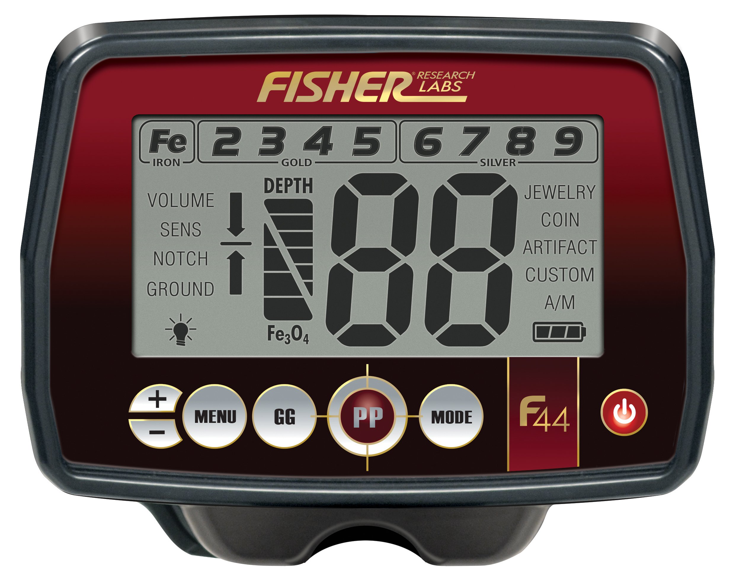 Fisher F44 Metal Detector by Fisher (Image #2)