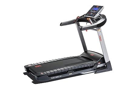 UNO Fitness Adultos Flex Run Cinta de Correr 1.8, Plata de Negro ...