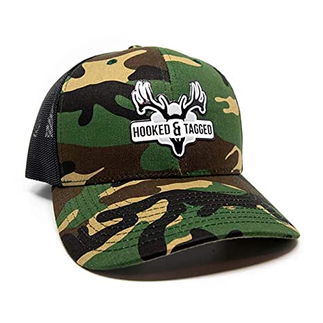 Image Unavailable. Image not available for. Color  Hooked   Tagged Snapback  Trucker Hat - European Patch - Camo c8b21ec5d241