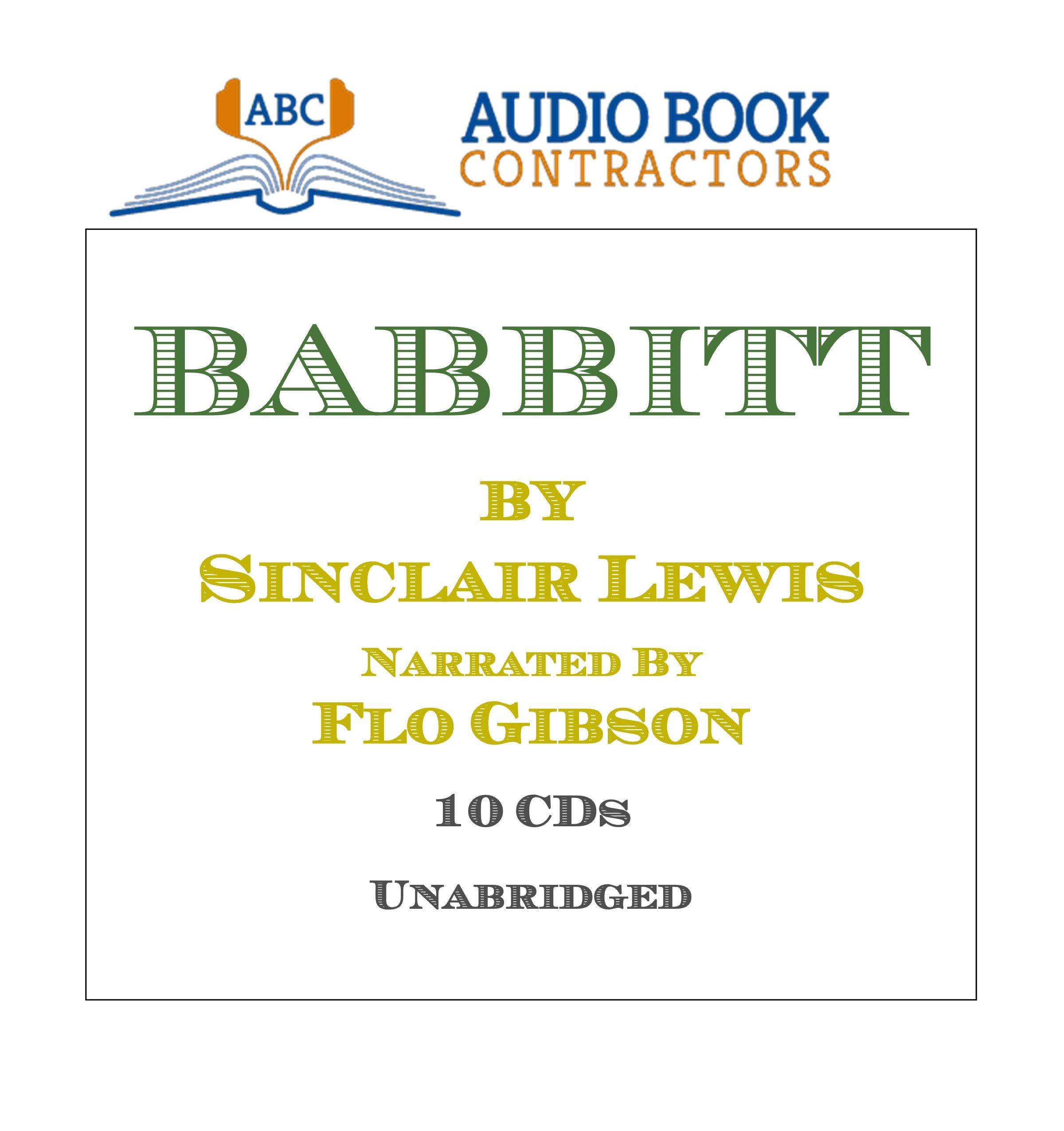 Download Babbitt (Classic Books on CD Collection) [UNABRIDGED] (Classic on Cd) pdf epub