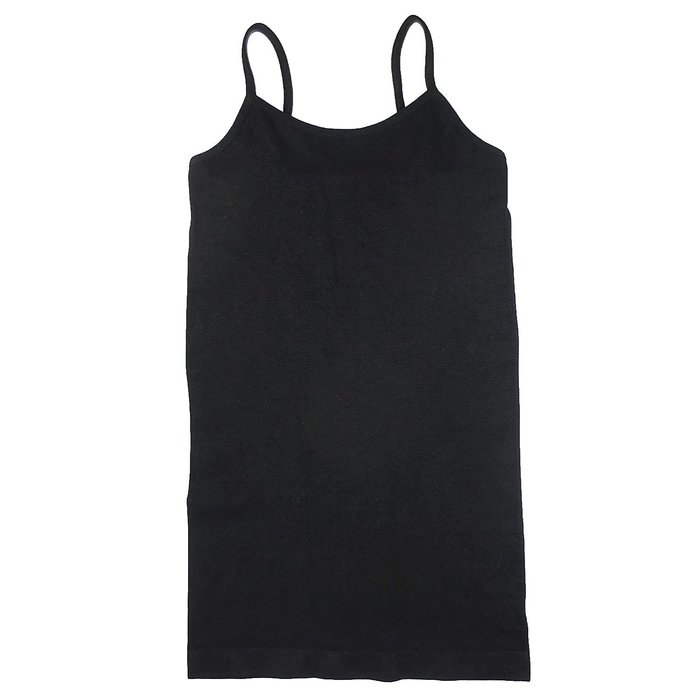 Coobie Seamless Ultra Stretch Thin Strap Cami Black