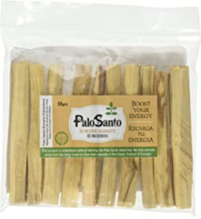 9d8b838325b Premium Certified Authentic Ecuadorian Kiln-Dried Palo Santo (Holy Wood)  Incense Sticks (