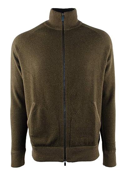 Polo Sweater Zip Ralph Wool Lauren Men's Mock Full Merino Neck kXuPiZTwO
