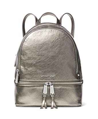 f7eca3ec8870 Image Unavailable. Image not available for. Color: Michael Kors Rhea Medium  Leather Backpack ...