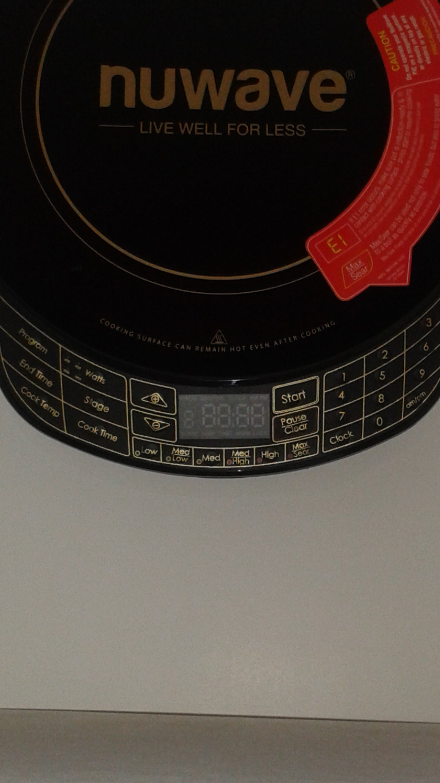 NuWave Platinum 30401 Precision Induction Cooktop, Black with Remote and Advanced Features for 2017 by NuWave (Image #6)
