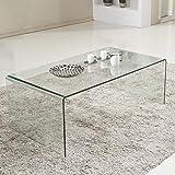 Amazon Com Baxton Studio Acrylic Nesting Tables Clear