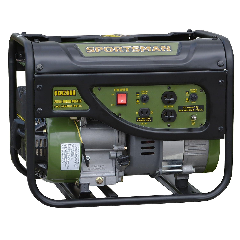 Sportsman GEN2000, 1400 Running Watts 2000 Starting Watts, Gas Powered Portable Generator