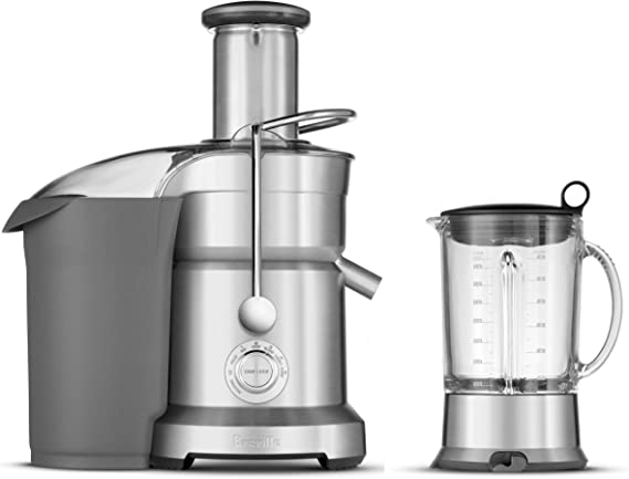 Breville BJB840XL Juice and Blend, Metal, Silver: Amazon.co