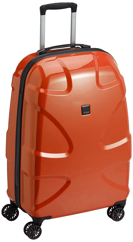 """TITAN Valise trolley """"X2"""" avec 4 roues cuivré Koffer, 71 cm, 87 liters, Orange (Cuivré)"""