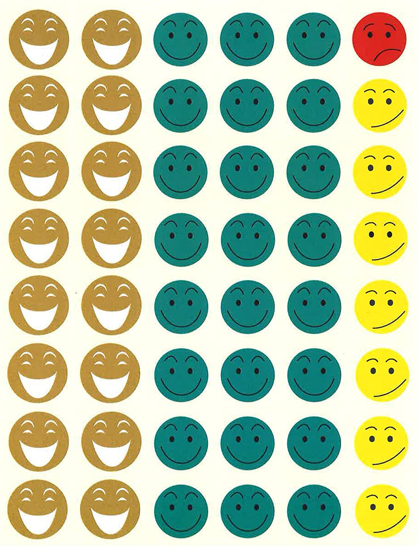 Apli Agipa Sticker Smiley Emoticons 144 Nappies Amazon Co Uk