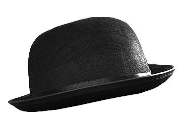 d64320e76a62d Small Bowler hat, Black felt 55cm-56cm Ladies or Childrens GENTS FANCY  DRESS (Pack of 12): Amazon.co.uk: Pet Supplies