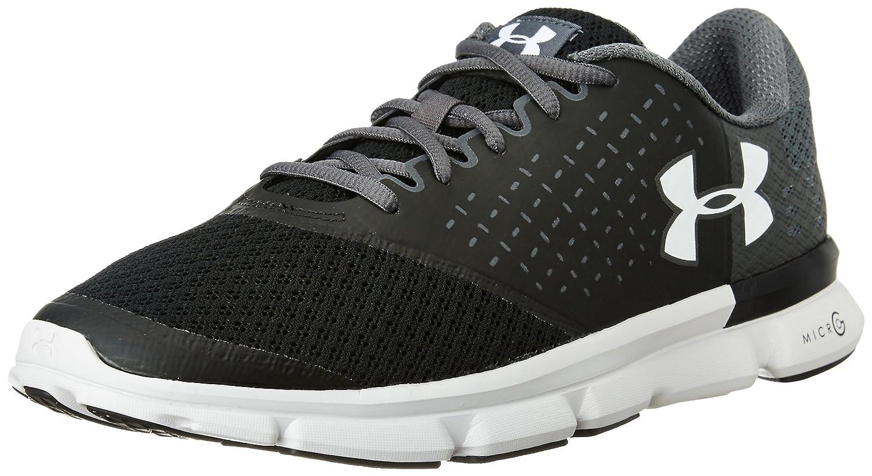 Under Armour Men's Micro G Speed Swift 2 Running Shoe B01GOYSUAW 11.5 M US|Black (001)/Rhino Gray