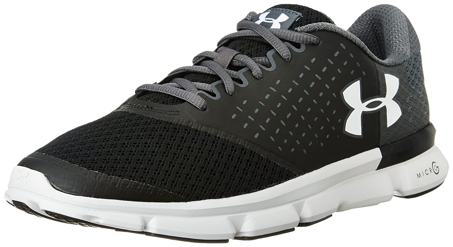 Under Armour Men's Ua Micro G Speed Swift 2 Running Shoes, BTN/Ubl/WHT, M  US: Amazon.co.uk: Shoes & Bags