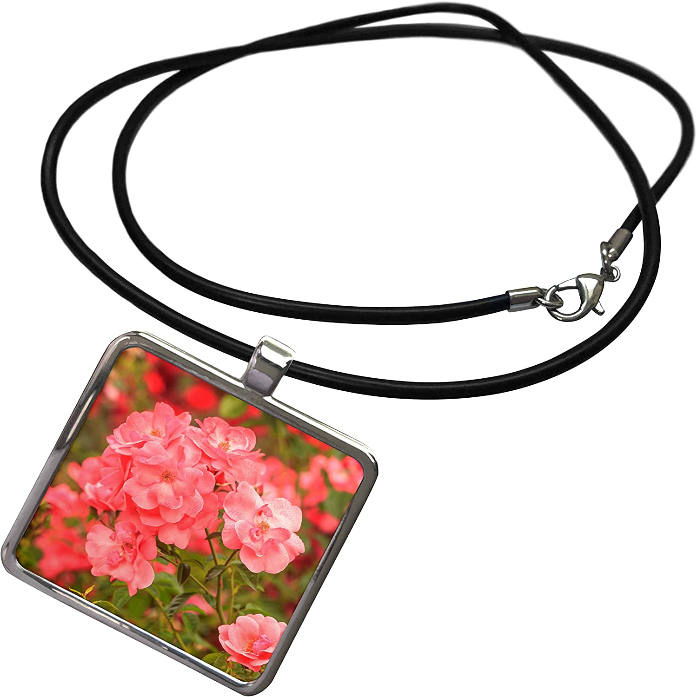3dRose Portland Rose Garden, Portland, Oregon, USA - Necklace with Pendant (ncl_332052)