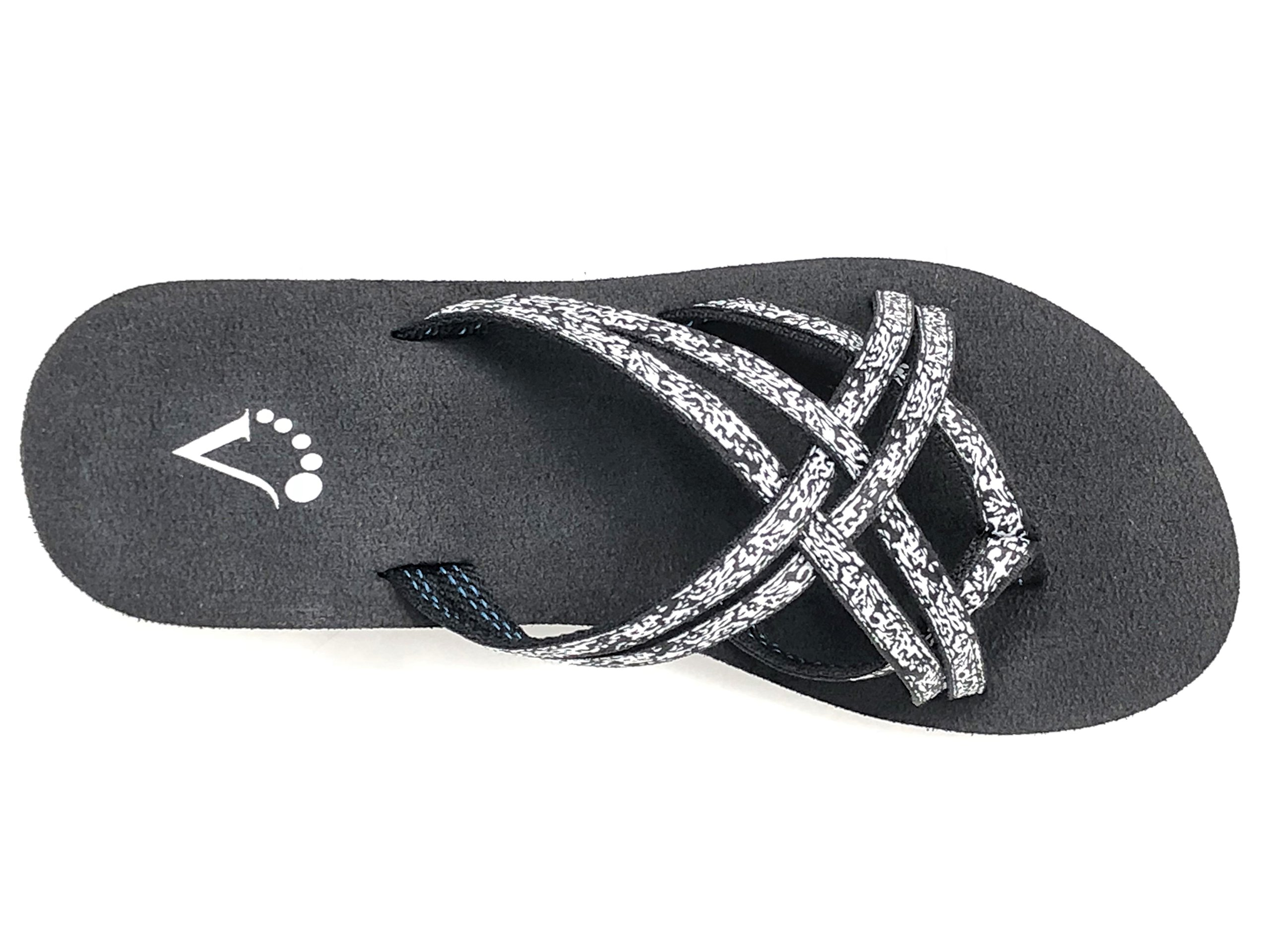 Viakix Wedge Flip Flops for Women – Comfortable, Stylish, Cute, Women's Strappy Sandal for Walking, Beach, Travel by Viakix (Image #5)
