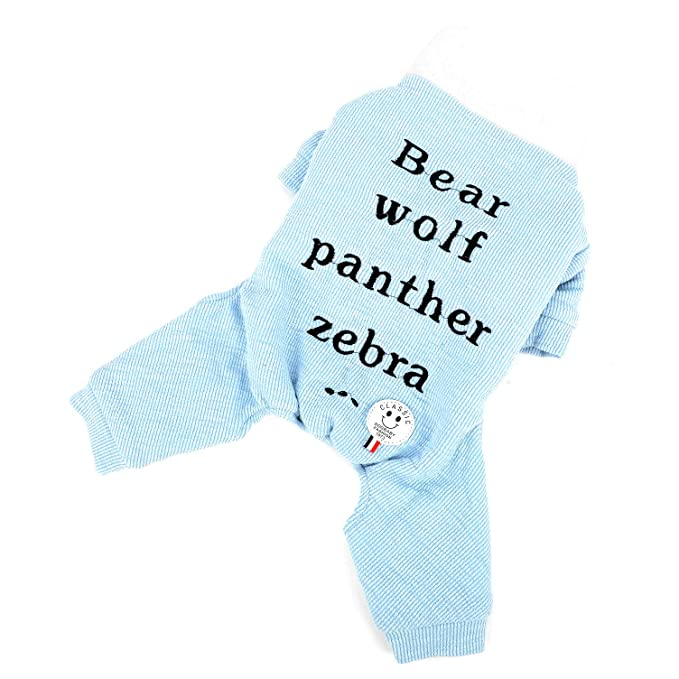 Zunea - Mono de Punto para Perro, para Perros, Chicas, Cachorros, suéteres, Pelele de Forro Polar Suave, Ropa para Mascotas de Invierno de algodón cálido ...