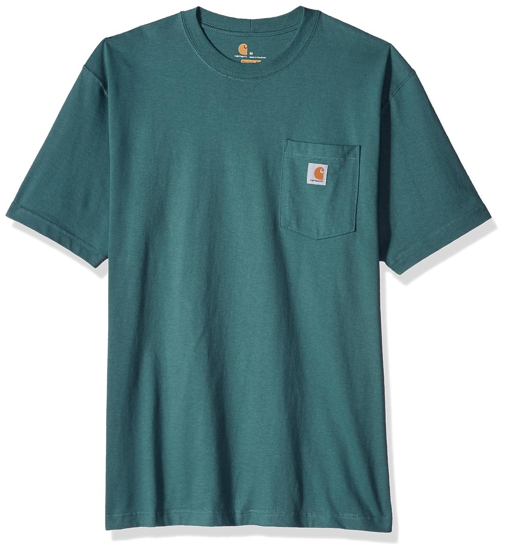 Carhartt SHIRT メンズ ブルー/グリーン X-Large X-Largeブルー/グリーン B06WVFQRTC