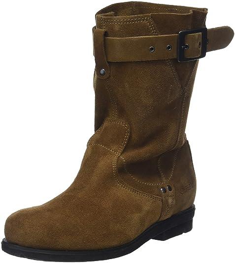 e1f9b0fe2f1 PLDM by Palladium - Botas de Otra Piel Mujer, Marrón (Marron (Date 149)),  40 EU: Amazon.es: Zapatos y complementos
