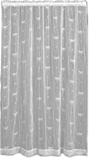 product image for Heritage Lace Dragonfly 45-Inch Wide by 63-Inch Drop Panel, White