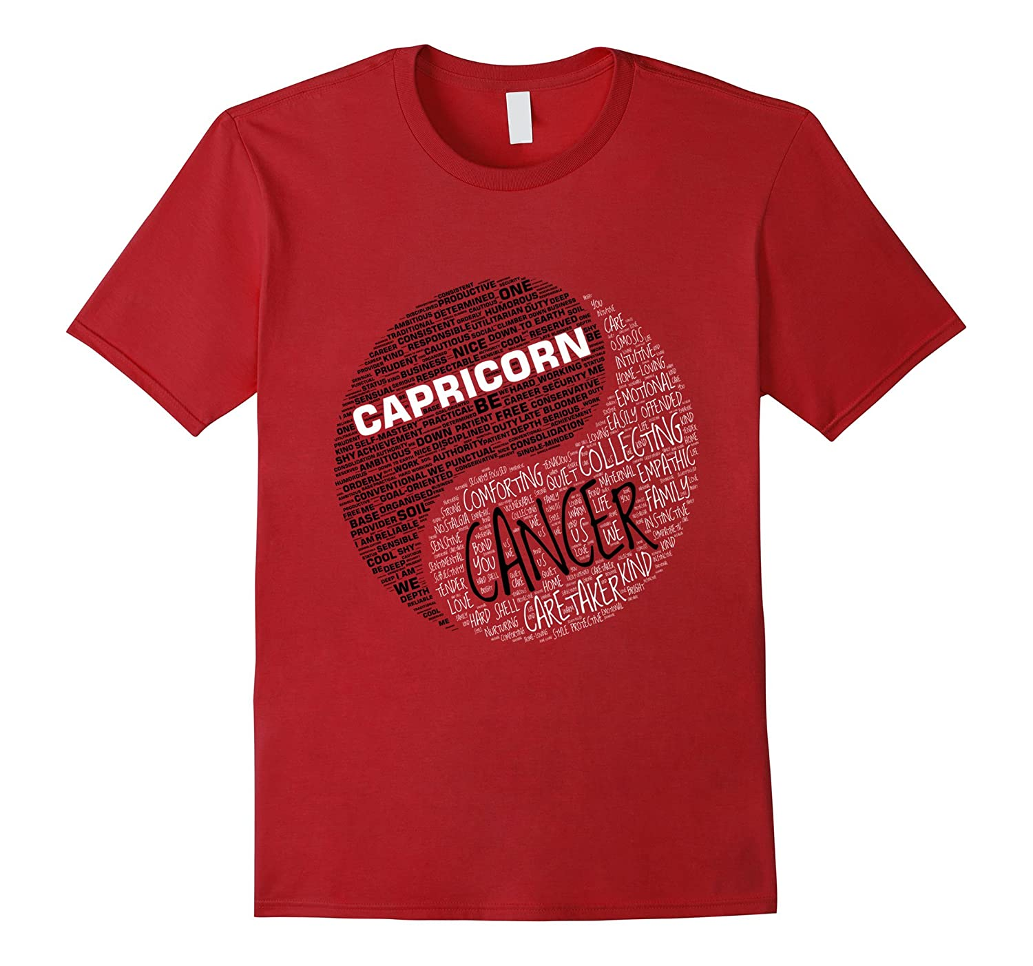 Zodiac Facts shirt for Men & Women Capricorn and Cancer T-sh-TH