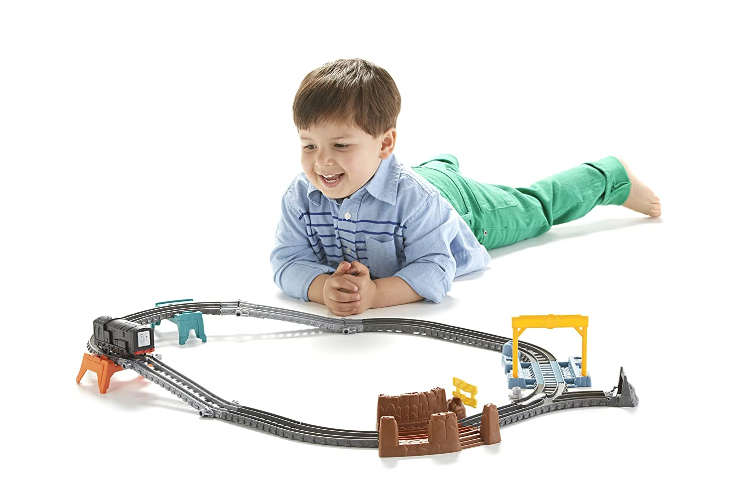 3-in-1 Builder Set Fisher Price CFF95 Fisher-Price Thomas /& Friends TrackMaster
