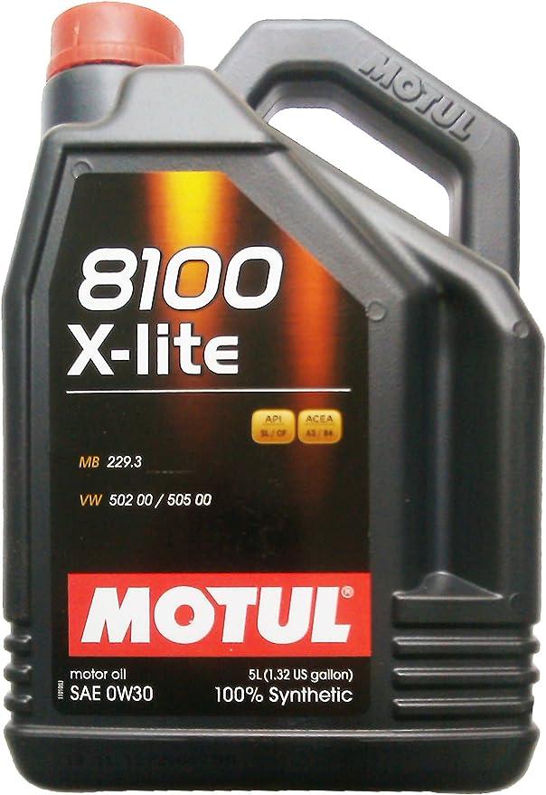 Motul 8100 X Lite 0w30 5liter Auto