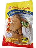 Superior Quality PRESERVED SALTED RADISH - 8 oz - Product of Thailand