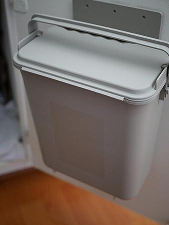 zero waste mountable kithen compost bin 15 gallon cabinet door under sink