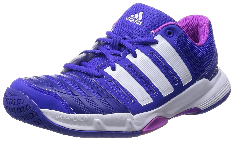 Chaussures Handball Court Stabil 11 W Bleu B40383 38 2/3 EU|Morado