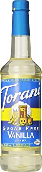 4-Pack Torani Sugar Free Syrup, Vanilla, 25.4 Ounce