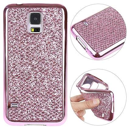 Galaxy S5 Funda Blandas, Galaxy S5 Neo Case Brillar, Moon ...