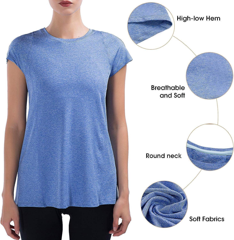 Corsa Rilassante SPECIALMAGIC Sportivo Blu XXL per Yoga Palestra Top da Donna Ultra Morbido