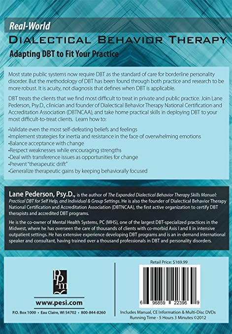 Amazon.com: Real-World DBT: Adapting DBT to Fit Your Practice: Lane ...