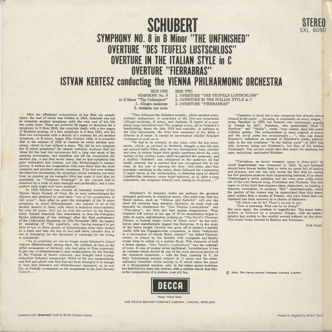 Amazon | シューベルト:交響曲8...