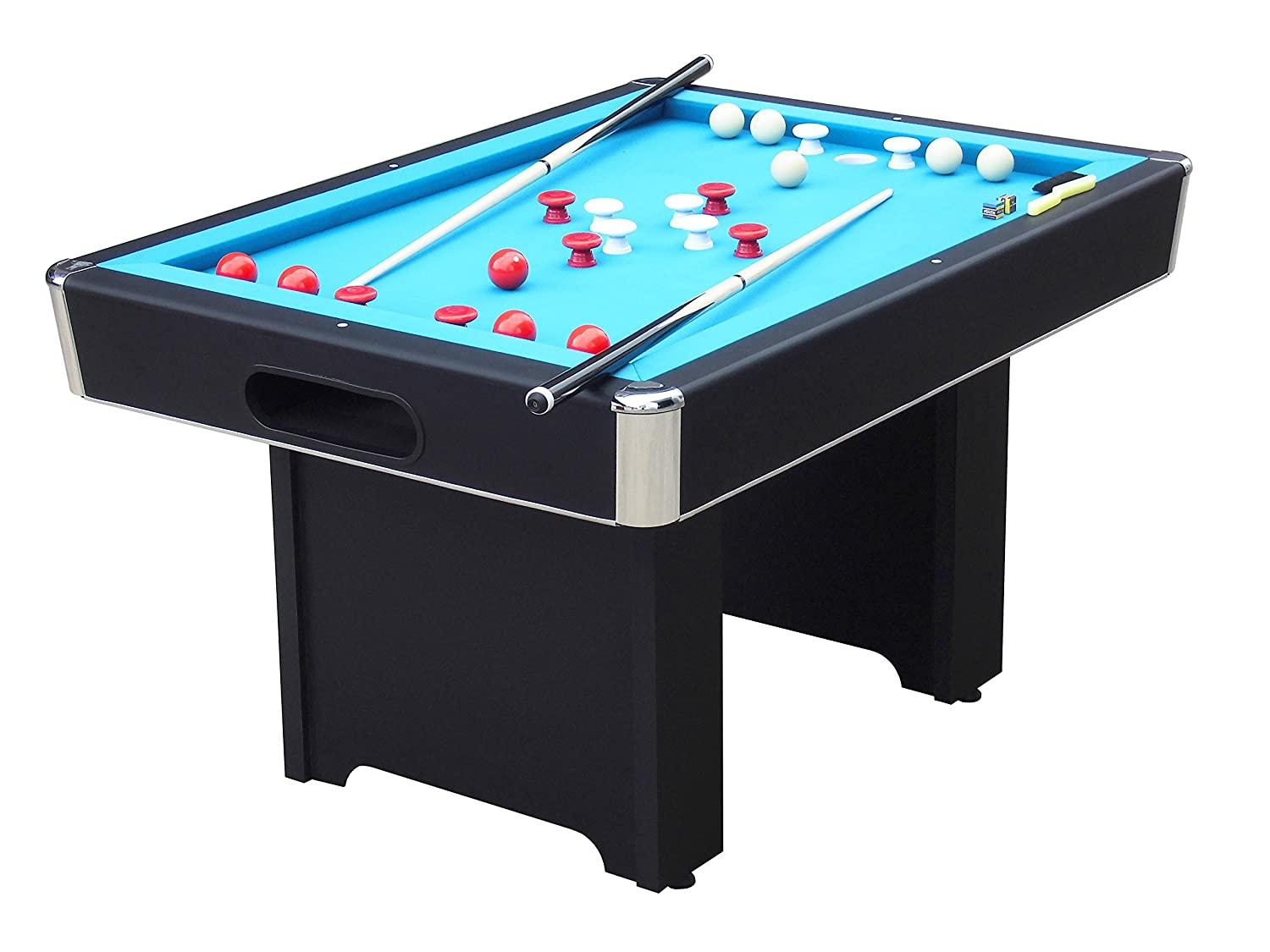 Amazoncom Carmelli NGPG Renegade Slate Bumper Pool Table With - Carmelli pool table