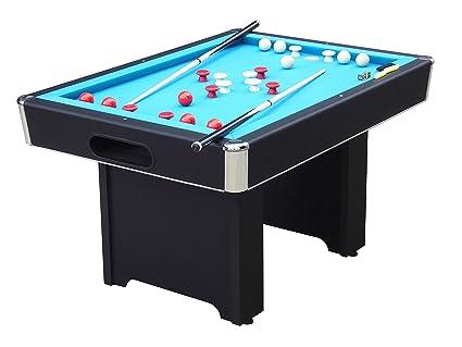 Amazoncom Playcraft Hartford Slate Black Bumper Pool Table - Genuine slate playfield pool table