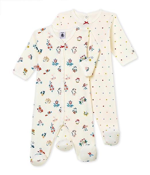 Petit Bateau Lot Db Fil, Camiseta de Pijama para Bebés (Pack de 2): Amazon.es: Ropa y accesorios