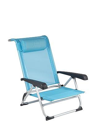 Red Mountain Chaise De Plage Saint Tropez Bleu Amazon Fr