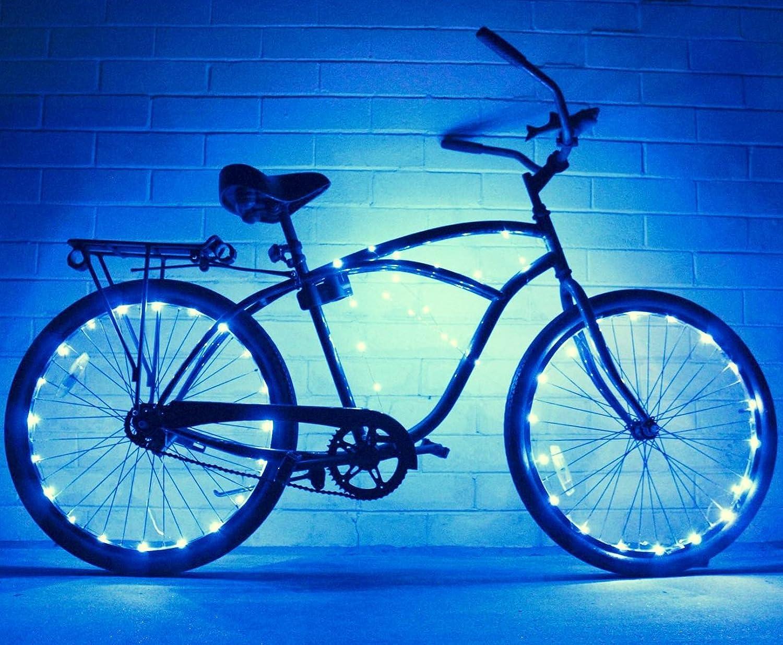 Amazon.com : Bike Wheel / Lights (2 PACK)- Colorful Light Accessory ...