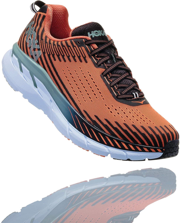 Hoka One One Clifton 5 Running schuhe Men Nasturtium Phantom Schuhgröße US 10   EU 44 2019 Laufsport Schuhe