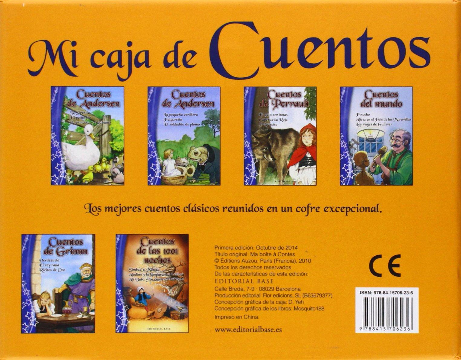 Mi caja de Cuentos: 1 (Base Kids): Amazon.es: Andersen, Hans ...