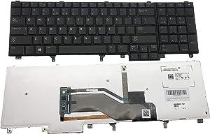 New Keyboard for Dell Latitude Dell Latitude E6520 E6530 E6540 Series US Layout MP-10H23USJ6981W PK130V12B00 Black Backlight Point Stick E6520