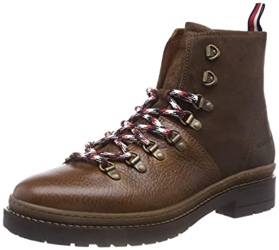 brand new 3f3ad 52a89 Tommy Hilfiger Herren Elevated Outdoor Hiking Combat Boots