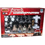 Metallica Master of Puppets 25 Pc. Heavy Metal Rock Band Lego Hands Action Figure Toy Stage Set