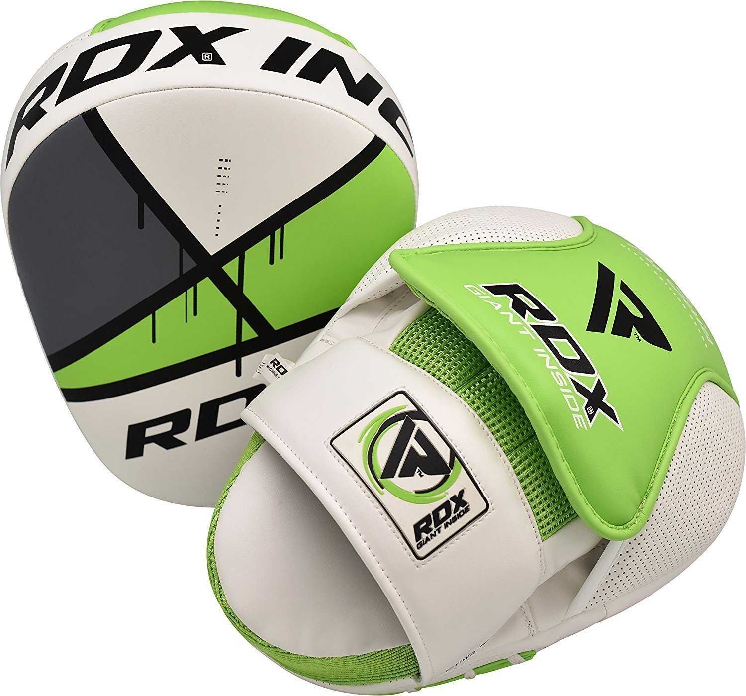 Manoplas rdx de enfoque muay thai