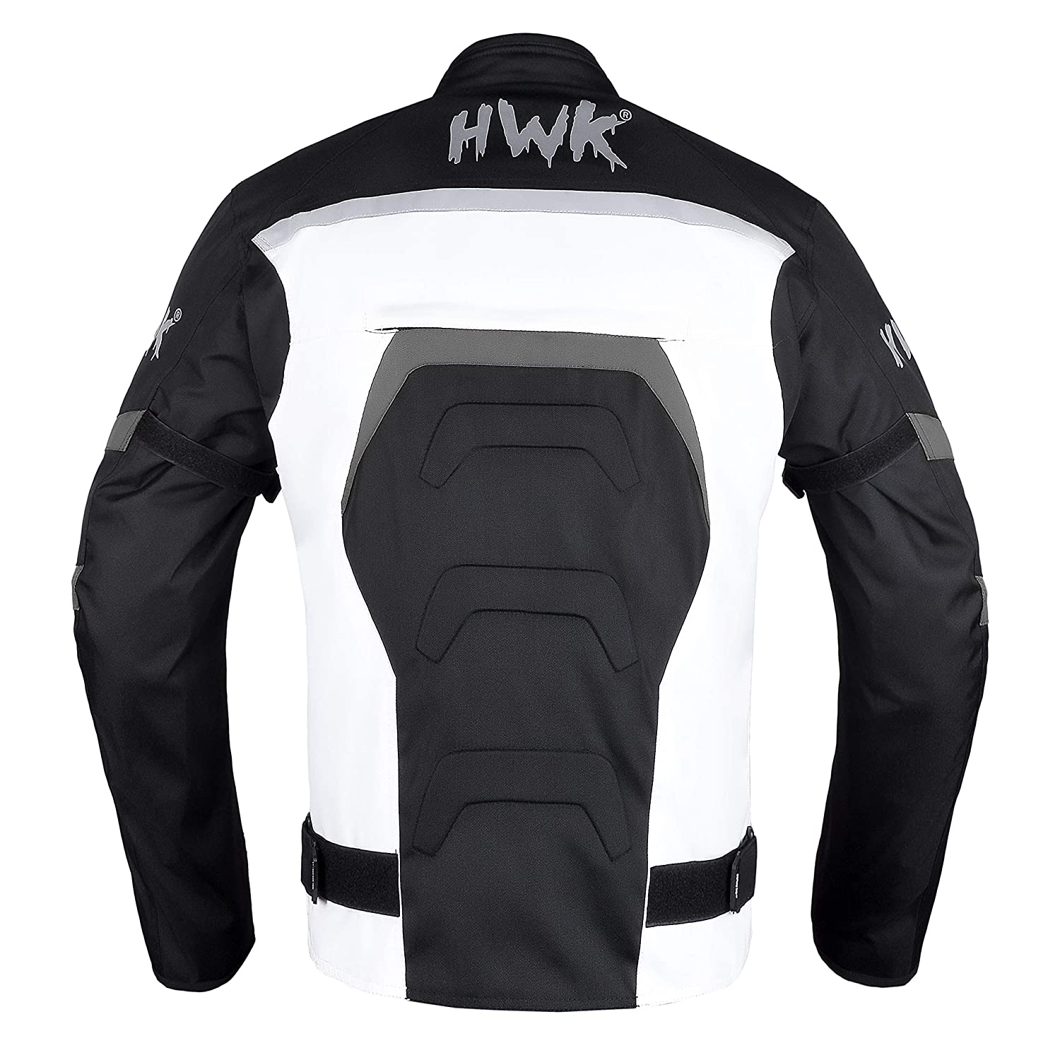 HWK Textile Motorcycle Jacket Motorbike Jacket Biker Riding Jacket Cordura Waterproof CE Armoured Breathable Reissa Membrane Removable Thermal lining Small, Blue 1 YEAR WARRANTY!!