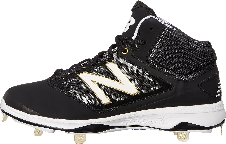 New Balance Mens M4040V3 Cleat Baseball Shoe