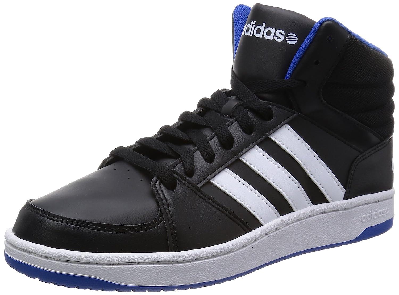 Adidas Neo Hoops VS MID Schwarz Herren Turnschuhe Schuhe