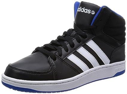 2a8593b3840893 adidas Neo Hoops VS MID Schwarz Herren Sneakers Schuhe  Amazon.de ...